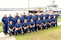 CIVILIAN COASTIES :  Men and women can volunteer to be a part of the U.S. Coast Guard Auxiliary, trained to perform a variety of functions ranging from boat inspections to search-and-rescue missions. - PHOTO COURTESY OF U.S. COAST GUARD