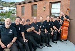 PROS:  Royal Garden Swing Orchestra, manned by many of the area's best jazz players, presents a free concert on July 31 at the AG Rotary Bandstand. - PHOTO COURTESY OF ROYAL GARDEN SWING ORCHESTRA