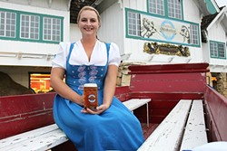 WORD OF MOUTH:  For the first time, House of Bagels Central Coast will supply fresh pretzels (served alogside Firestone Walker Brewing Co. beer) at Madonna Inn's Oktoberfest celebration, slated for Oct. 1 at the Madonna Inn Expo Center. - PHOTO BY AUDREY PEARCE