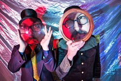 GET WEIRD:  The Claypool Lennon Delirium featuring Sean Lennon (left) and Les Claypool (right) brings its psychedelic space rock to Fremont Theatre on Aug. 4. - PHOTO COURTESY OF THE CLAYPOOL LENNON DELIRIUM