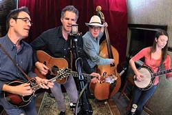 BLUEGRASS AND BARBECUE:  Americana pickers Chris Jones and the Night Drivers return to The Last Stage West BBQ for a buffet dinner and concert on Jan. 25. - PHOTO COURTESY OF CHRIS JONES AND THE NIGHT DRIVERS
