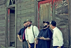 CENTRAL VALLEY BOYS:  Hear Saltwater playing everything from bluegrass to rockabilly on Jan. 14 at Frog and Peach. - PHOTO COURTESY OF SALTWATER