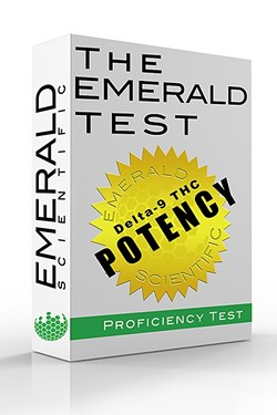 SAFETY:  The cannabis industry is growing, and Emerald Scientific believes that moving past the stigma associated with it depends on getting quality products and information out there. - PHOTO COURTESY OF EMERALD SCIENTIFIC