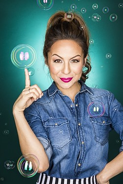 YOU WANT PEDICURE TOO?:  Comedian Anjelah Johnson's career took off when her stand-up about going to the nail salon blew up online in 2007. - PHOTO COURTESY OF ROBYN VON SWANK