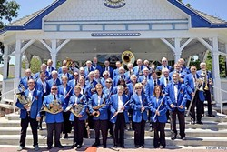 YOUR BAND! :  The SLO County Band presents its 22nd annual Benefit Concert for Homeless Services on Nov. 20, in SLO's Mount Carmel Lutheran Church, with special guest conductor CMC Warden Josie Gastelo! - PHOTO COURTESY OF THE SLO COUNTY BAND