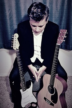STRAIGHT OUTTA MODESTO:  Jazz guitarist and songwriter Josh Rosenblum plays two Songwriters at Play showcases this week, Jan. 6, at Santa Margarita's The Porch; and Jan. 9, at Morro Bay Wine Seller. - PHOTO COURTESY OF JOSH ROSENBLUM