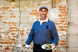 """THE GODFATHER:  Giuseppe """"Joe"""" DiFronzo has dedicated nearly three decades to creating unforgettable Italian grub on the Central Coast. A look at his current menu at Giuseppe's Cucina Rustica showcases simple Southern Italian dishes that smack of Old World charm. - PHOTO BY JAYSON MELLOM"""