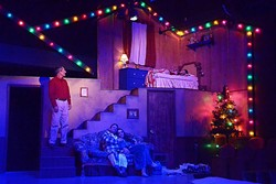 NOSTALGIA:  'A Christmas Story' at the San Luis Obispo Little Theatre is a holiday favorite for families along the Central Coast. - PHOTO COURTESEY OF JAMIE FOSTER PHOTOGRAPHY