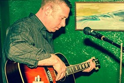 "LOOPER :  ""One-man-psychedelic-acousti-loop"" musician Holus Bolus (aka Tom Boylan) plays Frog and Peach on Oct. 5. - PHOTO COURTESY OF HOLUS BOLUS"