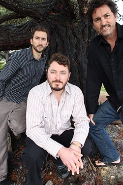 FUNKY:  Santa Cruz-based funk rock trio Wasabi (pictured) makes its Central Coast debut when it backs Shane Stoneman on his album release party on March 10, at Sweet Springs Saloon, as well as playing a set of their own music. - PHOTO COURTESY OF WASABI