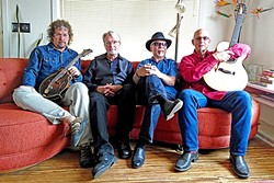 LOCAL SUPER GROUP!:  Blues/roots/country/rockabilly/Tex-Mex quartet the CC Riders play Los Osos' Red Barn on Nov. 5. - PHOTO COURTESY OF CC RIDERS