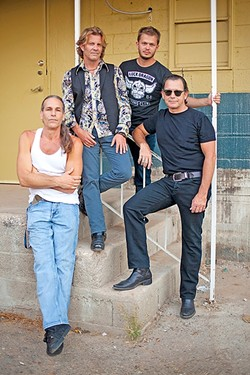 BLUESMEN:  Tommy Castro & The Painkillers play the SLO Blues Society show on Dec. 3, in the SLO Vets Hall. - PHOTO COURTESY OF TOMMY CASTRO & THE PAINKILLERS