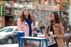 THE GIRLS ARE BACK IN TOWN:  Gilmore Girls: A Year in the Life takes viewers back to quirky Stars Hollow, where mother-daughter duo Lorelai (Lauren Graham) and Rory (Alexis Bledel) are tackling the next phase of life. - PHOTO COURTESY OF NETFLIX