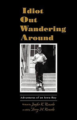 LOCAL LITERATURE :  Stories from local spots like Pirate's Cove and the old bowling alley on Laurel Lane make their way into 'Idiot Out Wandering Around' by Jenifer Rescola. - IMAGE COURTESY OF JENIFER RESCOLA