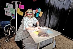 FACE YOUR FEARS:  The Grimsley Haunt in Santa Maria presents the House of Fears this year, an interactive haunted maze filled with actors and spooky attractions. - FILE PHOTO