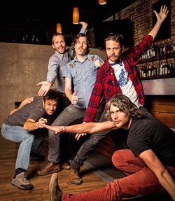 ALL IN THE FAMILY:  The Brothers Comatose play a Numbskull and Good Medicine Presents show on Feb. 2, at Fremont Theater. - PHOTO BY ROSIE GUTIERREZ