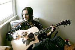 GUITAR DEMIGOD:  Zane Carney (pictured) and Blind Melon singer Travis Warren play an acoustic show on July 28 at Tooth & Nail Winery. - PHOTO COURTESY OF ZANE CARNEY
