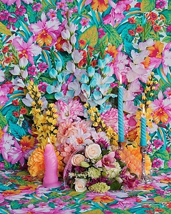 SO KITCH:  Philadelphia based artist Rachel Stern's studio photographs, like Still Life with Real and Fake Flowers and Adoration of Death, focus on aesthetics and beauty in everyday life. - PHOTO COURTESY OF RACHEL STERN