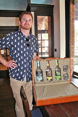 """WISH THEY ALL COULD BE CA BOOZE:  As the descendant of a family of moonshiners and an avid home distiller-turned-pro, Aaron Bergh has poured his heart and soul into making unique craft spirits that are distinctly """"California style."""" - PHOTO BY HAYLEY THOMAS"""