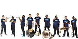 NOLA STYLE!:  New Breed Brass Band brings its second line sounds to Tooth & Nail Winery on Aug. 5. - PHOTO COURTESY OF NEW BREED BRASS BAND