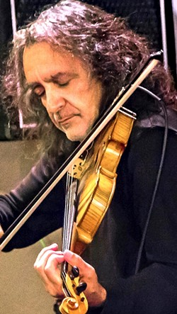 CANDLELIGHT :  Sal Garza (pictured) and the Candlelight Strings plays a healing concert on July 29 in St. Benedict's Episcopal Church of Los Osos in response to the Orlando nightclub massacre and other recent tragic events. - PHOTO BY CARL ADAMS