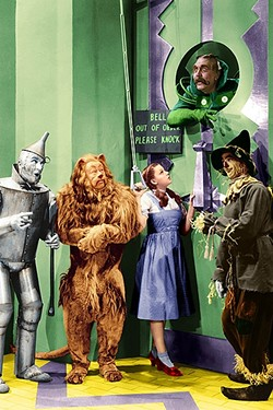 OFF TO SEE THE WIZARD!:  The 1939 classic film The Wizard of Oz will screen on New Year's Eve, Dec. 31, in the PACSLO while Orchestra Novo plays the score live! - PHOTO COURTESY OF METRO-GOLDWYN-MAYER AND WARNER BROS.