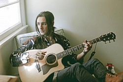GUITAR MASTER:  Zane Carney, lead guitarist from the Broadway hit 'Spider-Man: Turn Off the Dark,' plays Tooth & Nail Winery on Dec. 7. - PHOTO COURTESY OF ZANE CARNEY