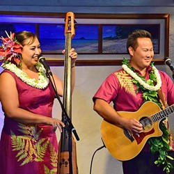 HAWAIIAN CHRISTMAS:  Kupaoa of Kauai, Hawaii, plays Los Osos' St. Benedict's Church on Dec. 2. - PHOTO COURTESY OF KUPAOA