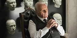 THE ARCHITECT:  Anthony Hopkins stars as Dr. Robert Ford, the ingenious creative director behind an Old West-themed amusement park. - PHOTO COURTESY OF HBO