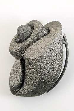 FROM THE EARTH:  Juan Granados' passion for the medium of ceramics (because of the malleable nature of clay) manifests in sculptures like Loma Con Codo. - PHOTO COURTESY OF JUAN GRANADOS