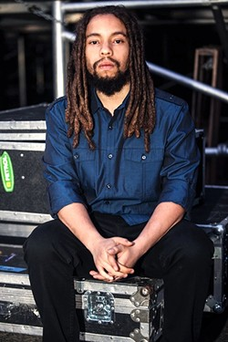 BOB'S GRANDSON:  Rising reggae star Jo Mersa Marley (pictured) opens for J Boog at the Fremont Theater on Feb. 22. - PHOTO COURTESY OF JO MERSA MARLEY