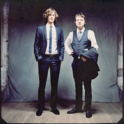 DYNAMIC DUO:  The folksy tunes of The Milk Carton Kids are slated for an appearance at the Fremont Theatre on Sept. 14. - PHOTO COURTESY OF THE MILK CARTON KIDS