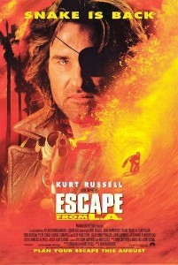 """SURF'S UP:  'Escape from L.A.' is nowhere near as good as its predecessor, but worth a watch for those considering a jump onto the """"Calexit"""" bandwagon. - PHOTO COURTESY OF PARAMOUNT PICTURES"""