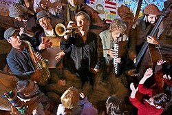 PARTY TIME!:  R&B, blues, jazz, and NOLA-style second line band The California Honeydrops play the Fremont Theater on Sept. 23. - PHOTO COURTESY OF THE CALIFORNIA HONEYDROPS