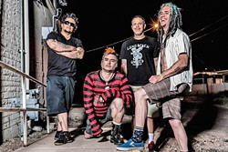 POZO PICNIC :  Punk heroes NOFX are one of half a dozen punk acts playing Pozo Saloon on Sept. 24. - PHOTO BY BEN GARCIA