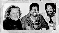 THE ORIGINALS:  'New Times' was founded by (left to right) Bev Johnson, Alex Zuniga, and Steve Moss. - PHOTO COURTESY OF ALEX ZUNIGA