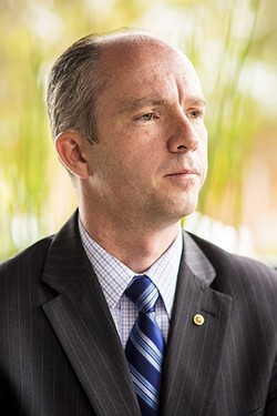 PROPOSITION OPPOSITION:  Dan Dow is one of several California District Attorneys to speak out against Proposition 57. - FILE PHOTO BY HENRY BRUINGTON
