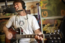 WATERMAN:  Local surf hero Shane Stoneman (pictured) plays an album release party on March 10 at Sweet Springs Saloon, with backing band Wasabi. - PHOTO COURTESY OF SHANE STONEMAN