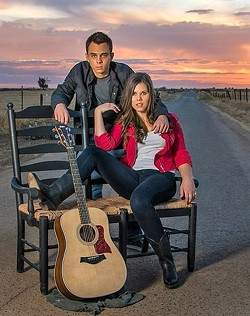 HOMEGROWN COUNTRY:  Aubrey Road will bring honeyed California country to Frog and Peach Pub Dec. 22. - PHOTO COURTESY OF AUBREY ROAD