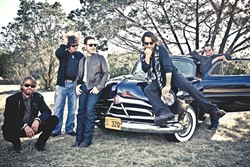 DINNER AND A SHOW:  Red Dirt act Cody Canada and the Departed play Feb. 25, at Treana Tasting Cellars, which includes a catered dinner by Chef Jeff Wiesinger of Jeffrey's Catering. - PHOTO COURTESY OF CODY CANADA AND THE DEPARTED