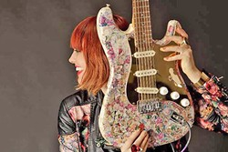 PUNK ROCK HEART:  L.A.-based singer-songwriter Vanessa Silberman will play an acoustic show on Dec. 3 at Linnaea's Café, bringing her folk, New Wave, punk, and hip-hop sounds. - PHOTO COURTESY OF VANESSA SILBERMAN