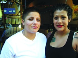 Yevette and Cindy Rubalcava