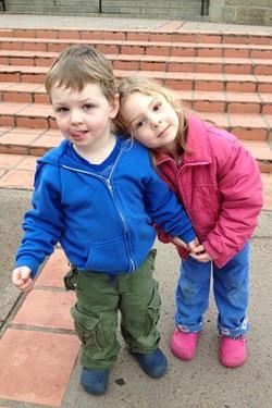 Olivia and Thomas
