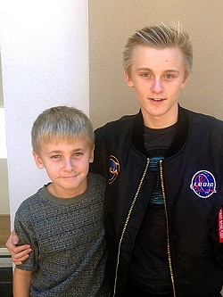 Hunter and Cooper Allan