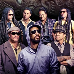 PEACEFUL WARRIORS:  Katchafire, New Zealand's all-Maori roots rock and reggae band, plays April 14, at the SLO Guild Hall, as part of the 20th anniversary tour. - PHOTO COURTESY OF KATCHAFIRE