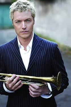 BLUE NOTE KING:  Jazz trumpeter Chris Botti brings his incredible sounds to the SLO-PAC on April 5. - PHOTO COURTESY OF CHRIS BOTTI