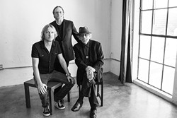BLUES SUPERGROUP:  The Rides—featuring (left to right) Kenny Wayne Shepherd, Stephen Stills, and Barry Goldberg—headline the Avila Beach Blues Festival on May 28 at the Avila Beach Golf Resort. - PHOTO COURTESY OF THE RIDES