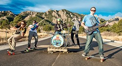 UNSTOPPABLE:  Reggae act Na'an Stop returns to Frog and Peach with a fun new album on May 18. - PHOTO BY NATHAN RIGUARD