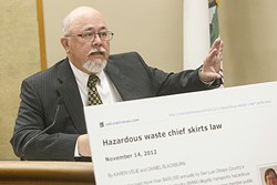 A QUESTION OF ETHICS:  CalCoastNews editor and outgoing CalPoly journalism professor Bill Loving defended Velie and Blackburn's article in court. - PHOTO BY JAYSON MELLOM