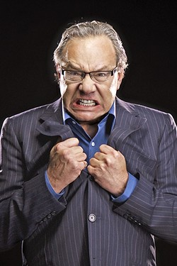 GRRRR!!! :  Comedian and satirist Lewis Black is airing rants from all over the country in his new Audible series, The Rant is Due. - PHOTO COURTESY OF CLAY MCBRIDE